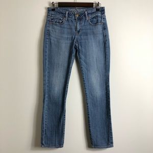 American Eagle skinny stretch blue jeans